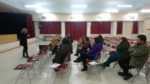 1st Multiplier Event (host: 8th High School in Chalandri)